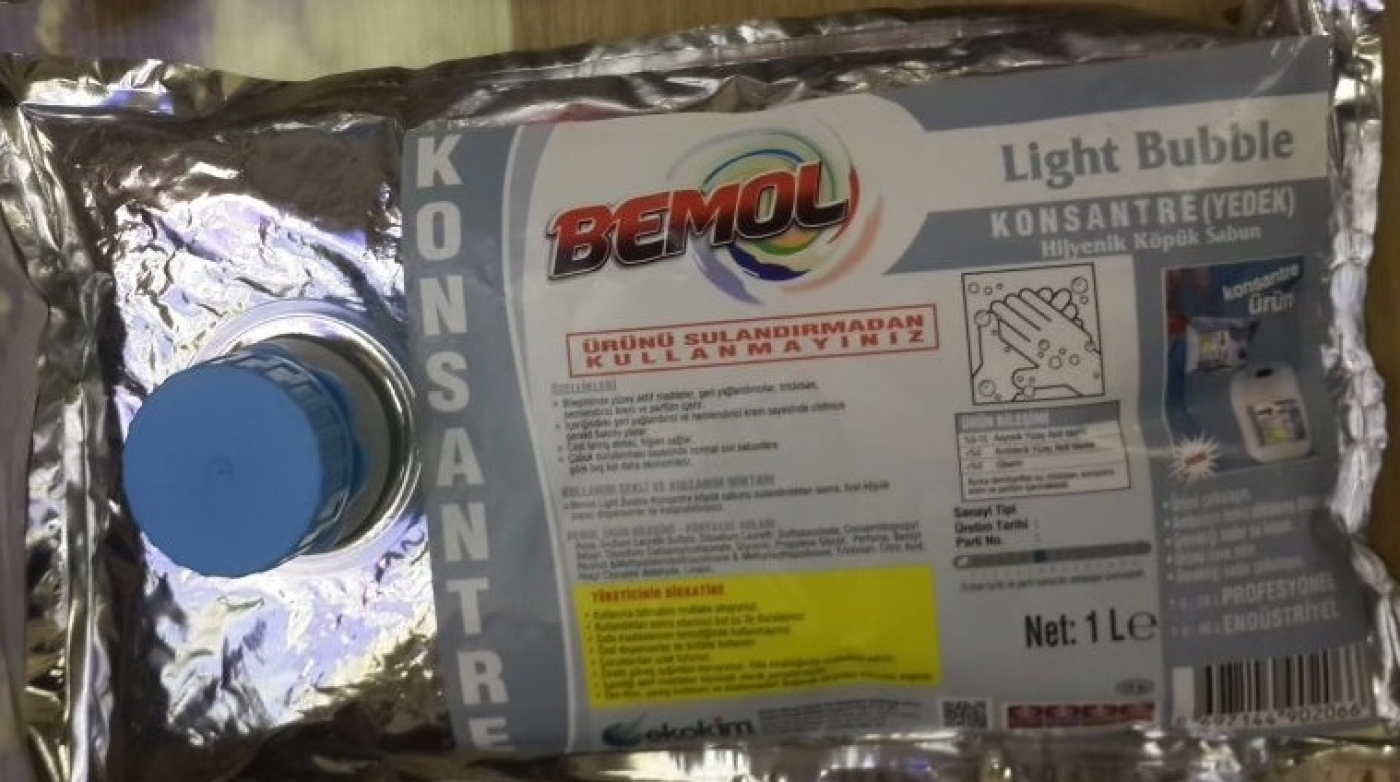 BEMOL LİGHT BUBBLE KÖPÜK SABUN 1LT KONSANTRE ÜRÜN